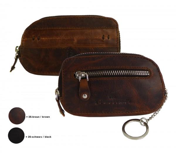 """Schlüsseletui, moneycase """"BRADFORD"""" 25-braun.brown"""