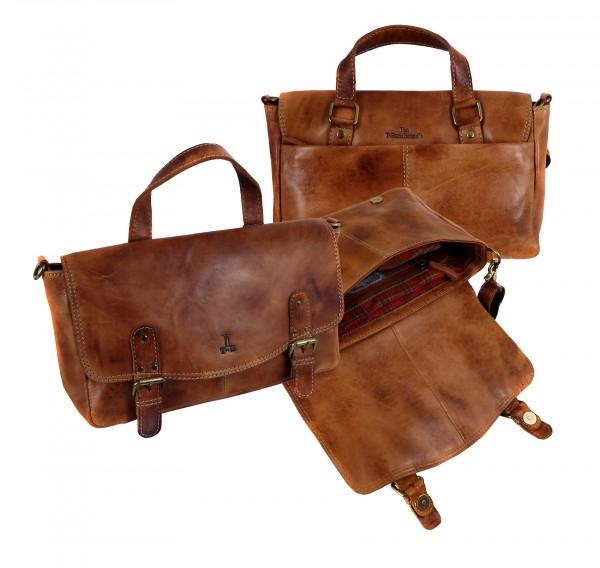 """Citybag """"CHEROKEE"""" 25-natural brown / natur braun"""