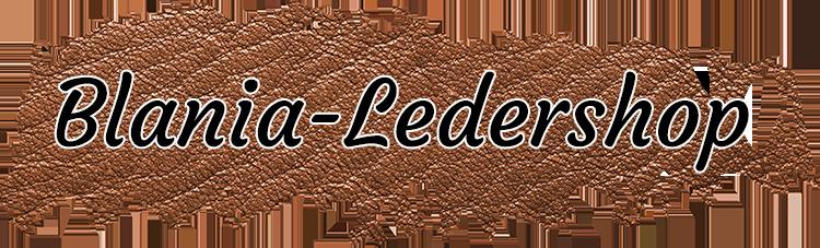 Logo Blania Ledershop