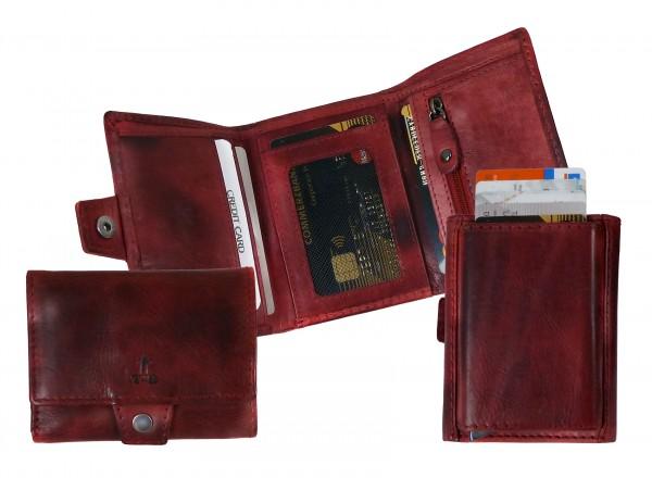 """Slim-Card -Wallet """"CHEROKEE"""" 25- Cherokee brown / braun"""