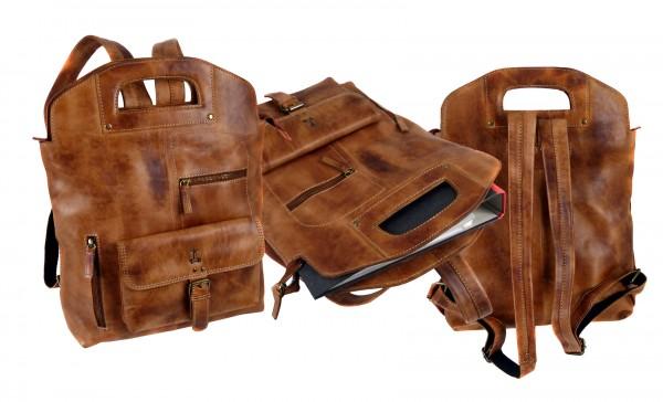 """Rucksack Tasche """"CHEROKEE"""" 25-braun/brown"""