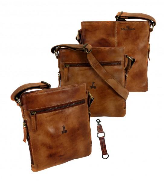 "Casual Zip Bag ""CHEROKEE"" 25-braun/brown"
