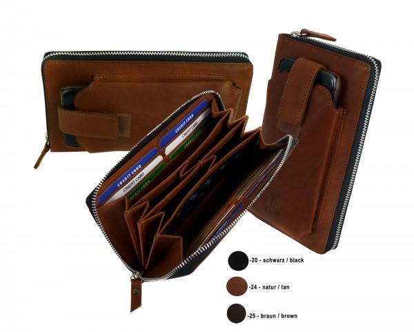 Zip Wallet *CASTER* 24-natur/tan