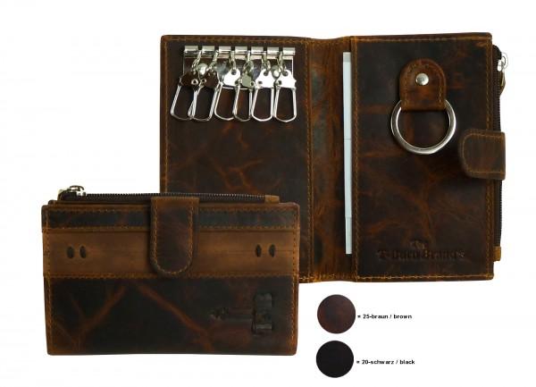 """Schlüssel, moneycase """"BRADFORD"""" 25-braun-brown"""