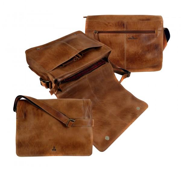 "A4 Multibag Unisex ""CHEROKEE"" 25-braun/brown"
