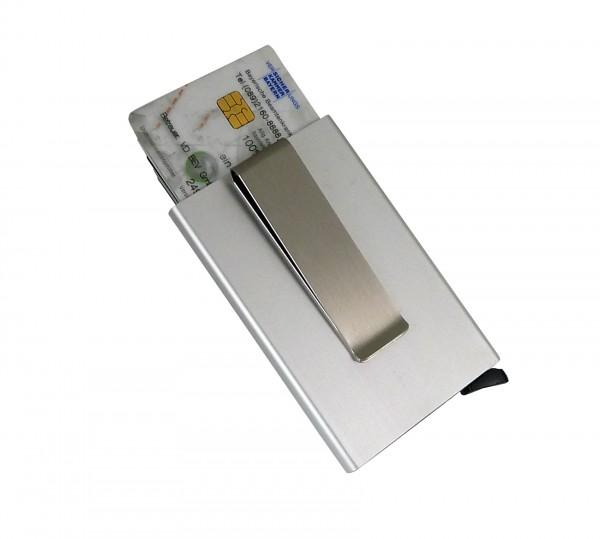 Slim-Card System Original aus gebürstetem Aluminium